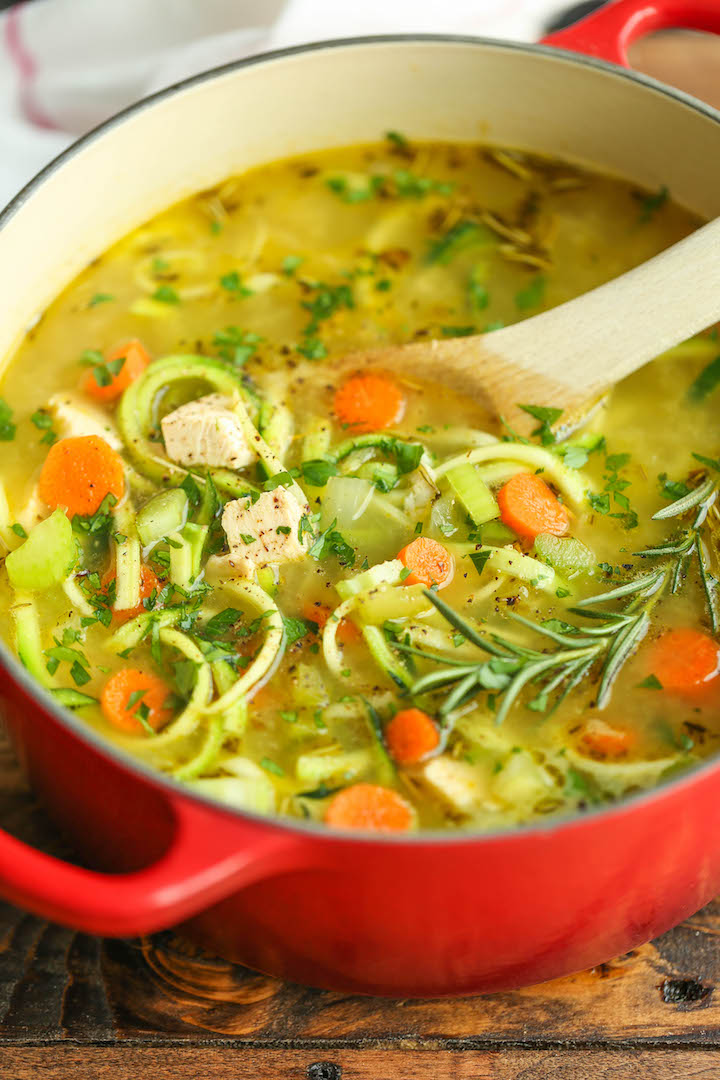 Chicken Zoodle Soup | 25+ Zoodle Recipes