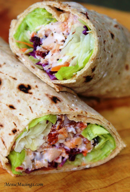 Cranberry Cherry Chicken  Wraps  | 25+ High Protein Recipes