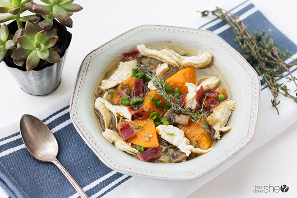 Heart-Healthy Chicken Sweet Potato Stew    25+ High Protein Recipes
