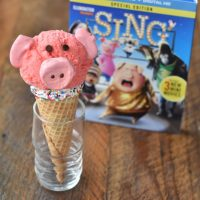 Piggy Ice Cream Cones