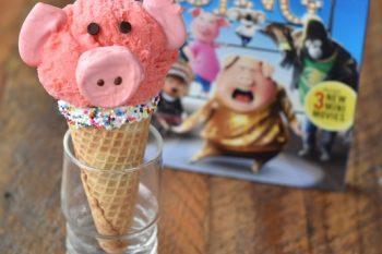 Piggy Ice Cream Cones