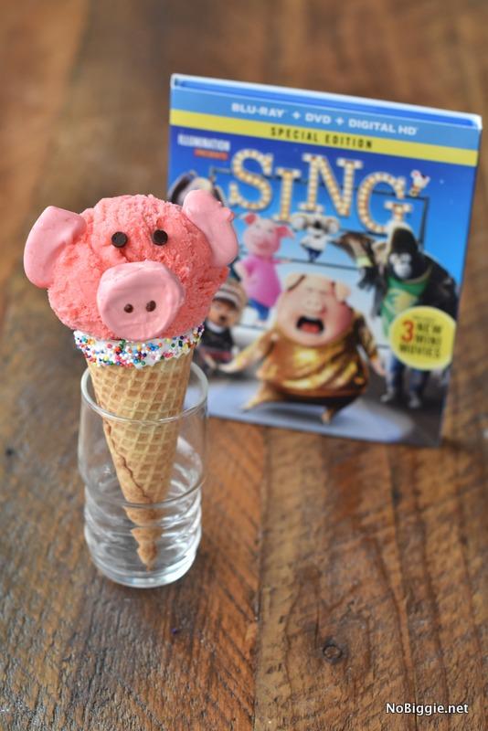 Piggy Ice Cream Cone | NoBiggie.net