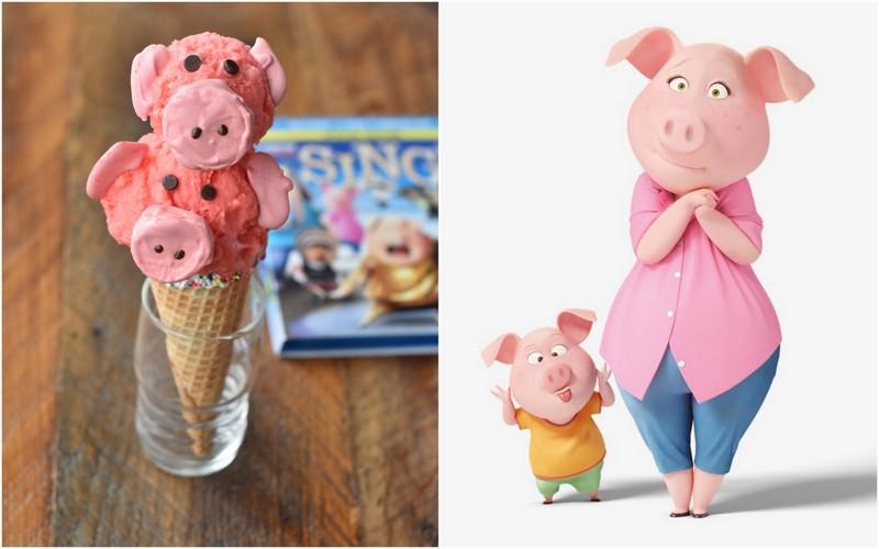 Rosita the Pig Ice Cream Cone | NoBiggie.net