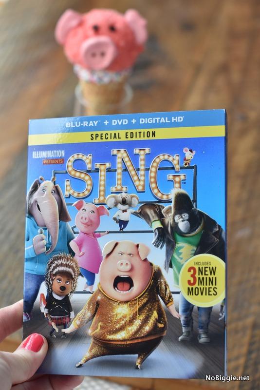 Sing the Movie DVD