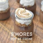 S'mores Pot De Creme | NoBiggie.net