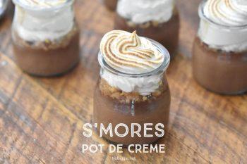 S'mores Pot De Creme