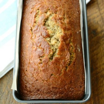 Sour Cream Chia Banana Bread | NoBiggie.net
