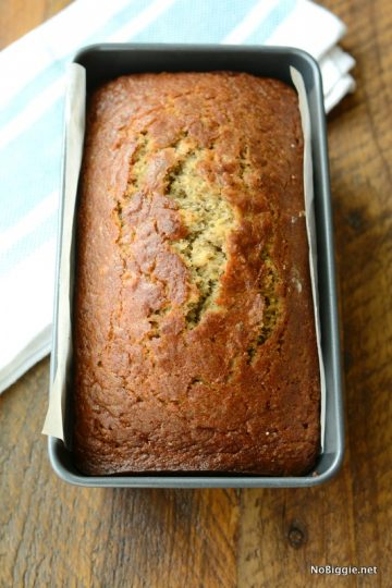 Sour Cream Chia Banana Bread