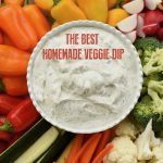 best homemade veggie dip