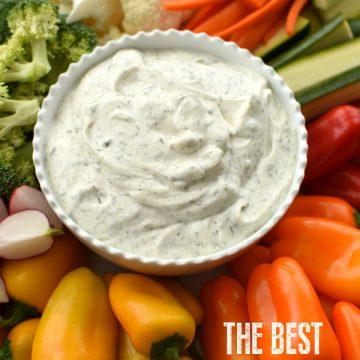 best veggie dip with sour cream