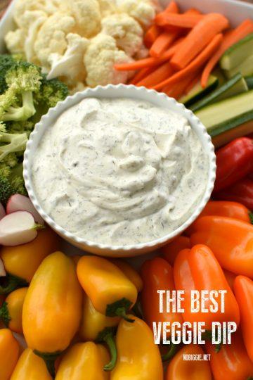 The Best Veggie Dip