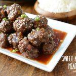 sweet and sour meatballs | NoBiggie.net