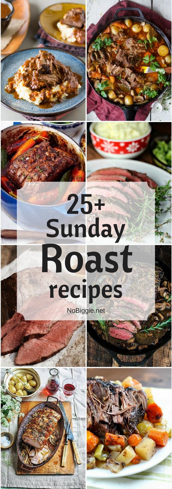 25+ Sunday Roast Recipes | NoBiggie.net
