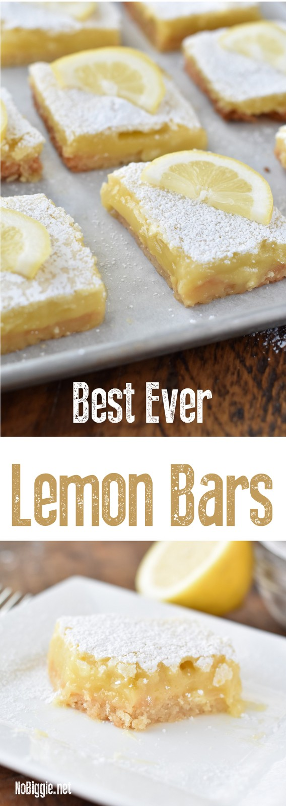 Best Ever Lemon Bars Watch the video | NoBiggie.net
