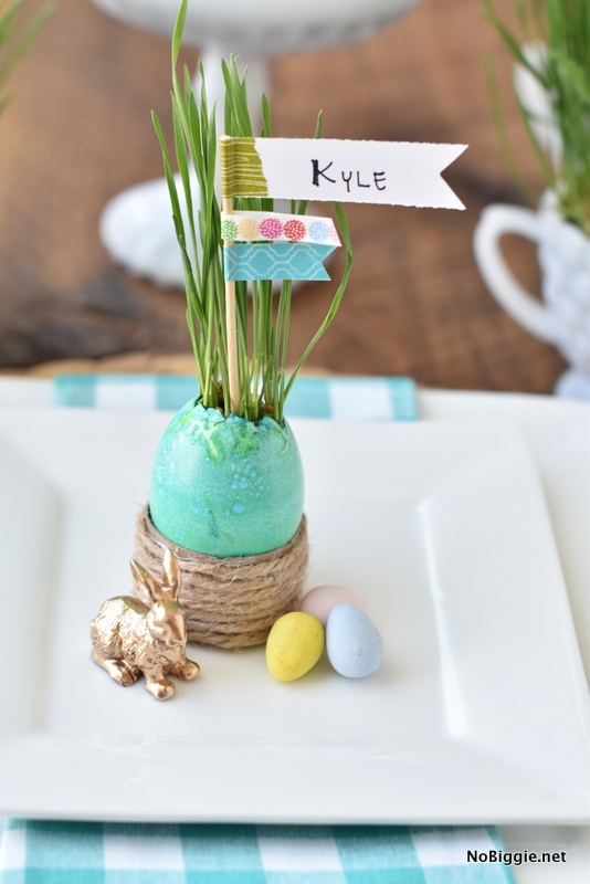 Easter Grass DIY | NoBiggie.net