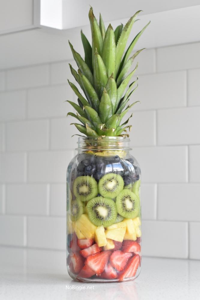 Pineapple Fruit Mason Jar | NoBiggie.net