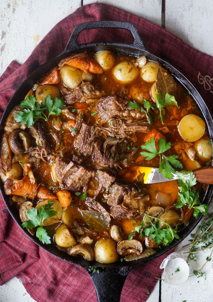 Skillet Pot Roast | 25+ Sunday Roast Recipes