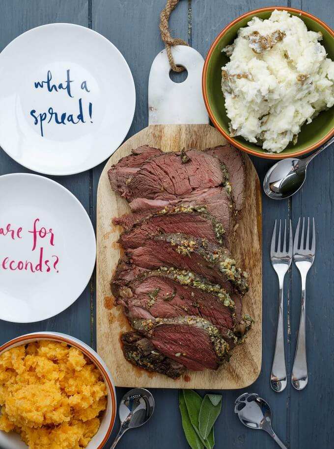 Slow Cooker Herb Butter Inside Round Roast | 25+ Sunday Roast Recipes