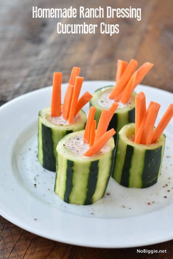cucumber ranch cups | NoBiggie.net