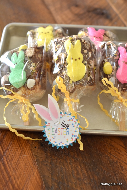 Easter rice krispie treats | NoBiggie.net