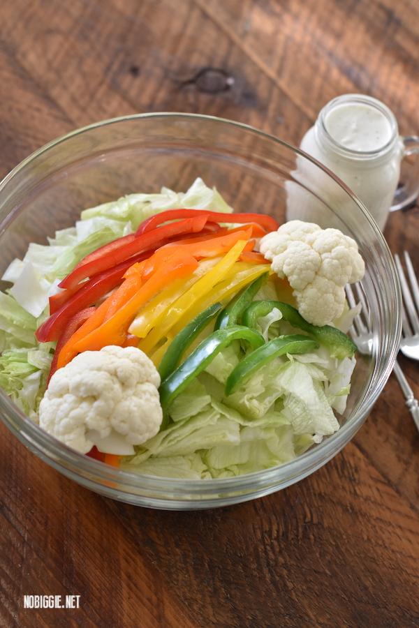 simple rainbow salad | NoBiggie.net