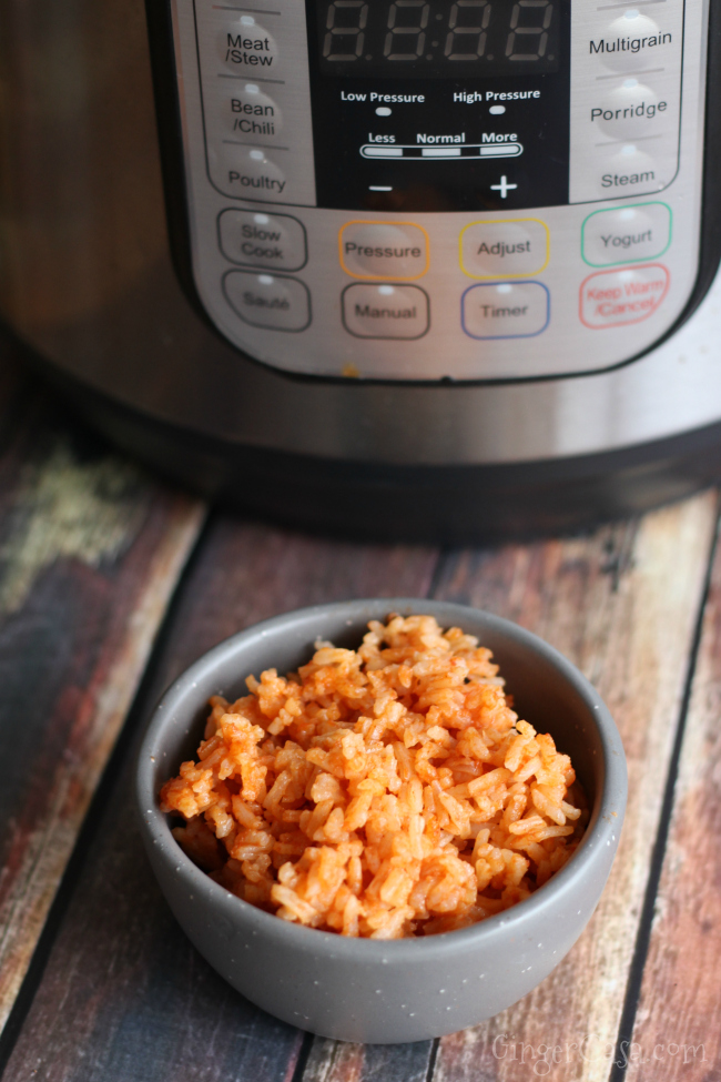 how to cook minute rice in instant pot