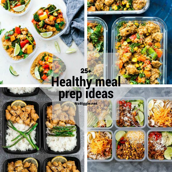 25+ Healthy Meal Prep Ideas