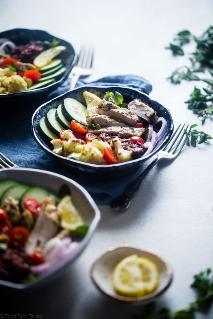 Greek chicken | 25+ healthy meal prep ideas