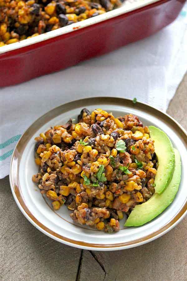 Healthy Black Bean Casserole | 25+ Clever Casseroles