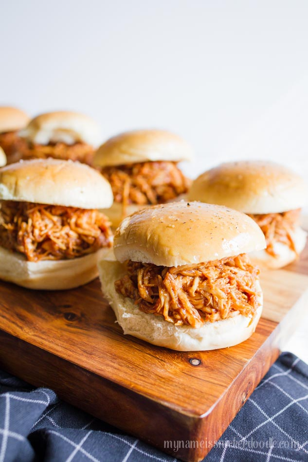 Instant Pot BBQ Chicken Sliders | 25+ Savory Instant Pot Recipes
