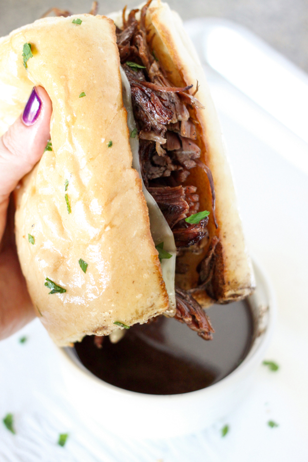 Instant Pot Pressure Cooker French Dip Sandwiches | 25+ Savory Instant Pot Recipes