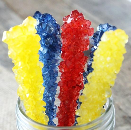 Kool Aid Rock Candy | 25+ Cool Ways to Use Kool-Aid
