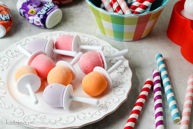 Kool Aid Yogurt Pops | 25 cool ways to use Kool Aid