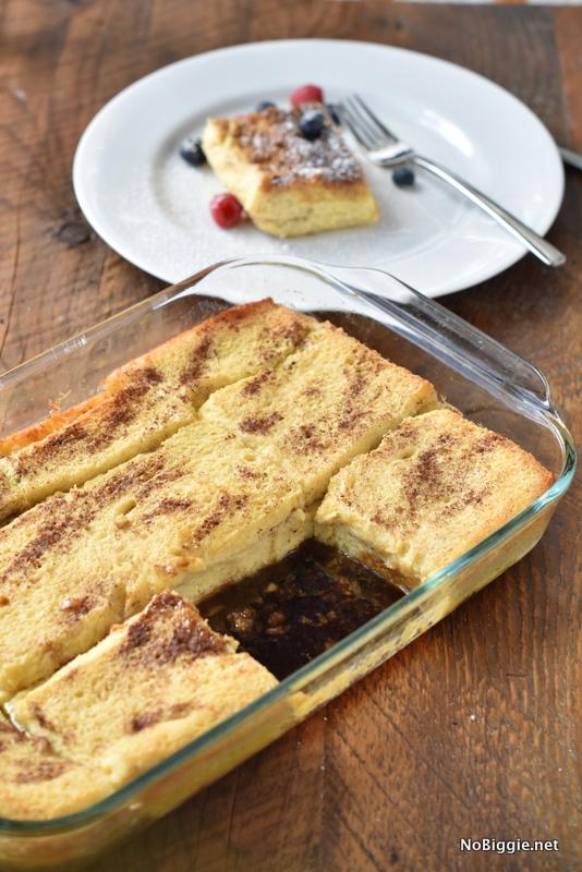 Overnight Baked French Toast | NoBiggie.net