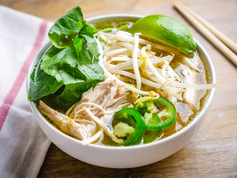 Pressure Cooker Chicken Faux Pho | 25+ Savory Instant Pot Recipes
