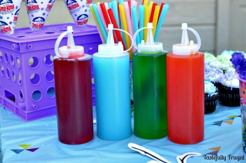 Snowcones syrup DIY | 25+ cool ways to use Kool Aid