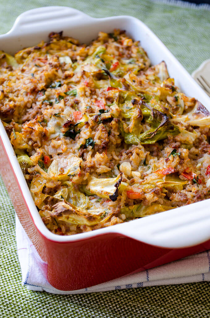 Unstuffed Cabbage Rolls | 25+ Clever Casseroles