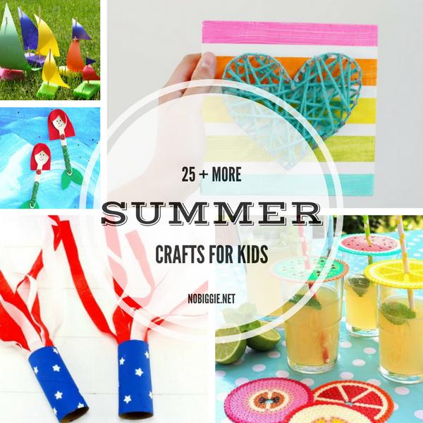 25+ MORE Summer Crafts for Kids | NoBiggie.net