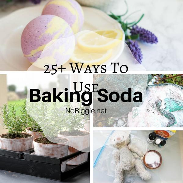 25+ Ways To Use Baking Soda | NoBiggie.net