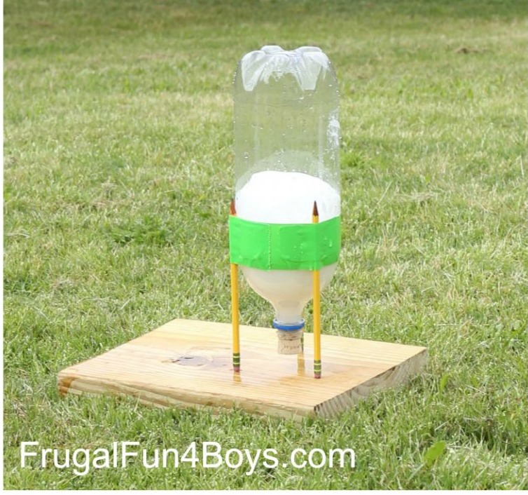 Soda Bottle Water Rocket: 25+ Ways To Use Baking Soda