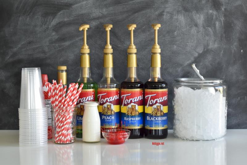 DIY Italian Soda Bar | NoBiggie.net
