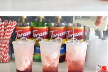 DIY Italian Soda Bar
