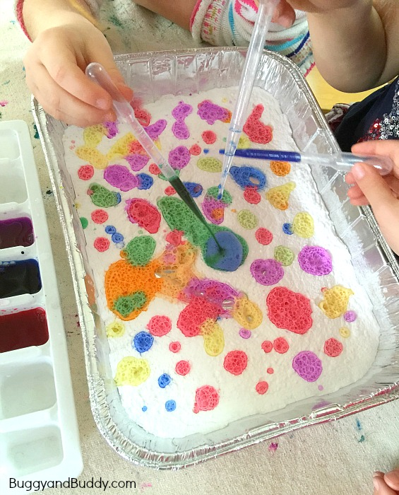 Exploring Colors | 25+ Ways To Use Baking Soda