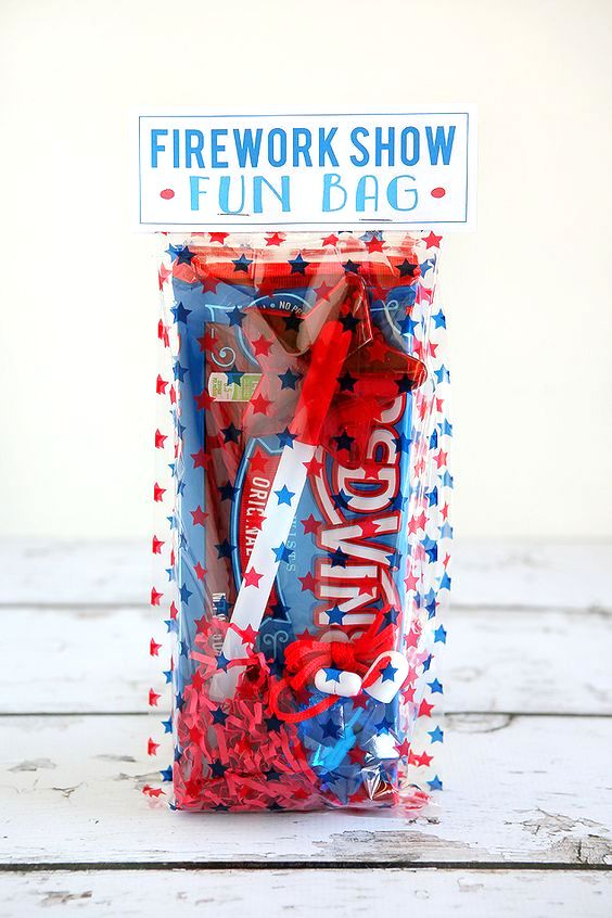 Firework Show Fun Bag | 25+ MORE 4th of July party ideas