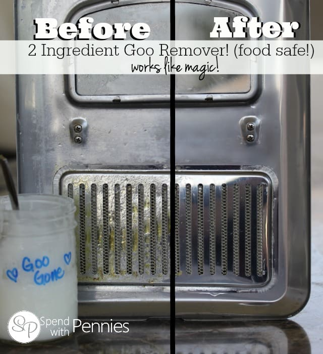 Goo Remover | 25+ Ways To Use Baking Soda