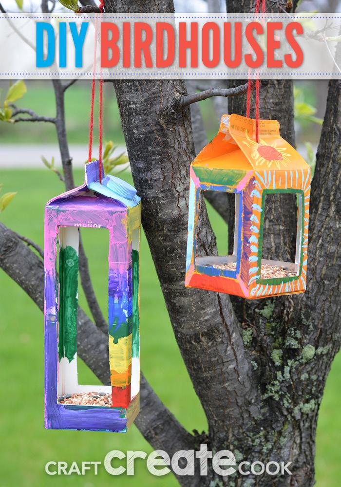 Kid Birdhouse | 25+ MORE Summer Crafts for Kids