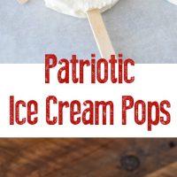 Patriotic Ice Cream Pops
