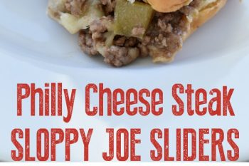 Philly Cheese Steak Sloppy Joe Sliders