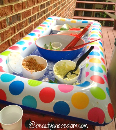 Raft as a Cooler | 25+ ways to Feed a Crowd