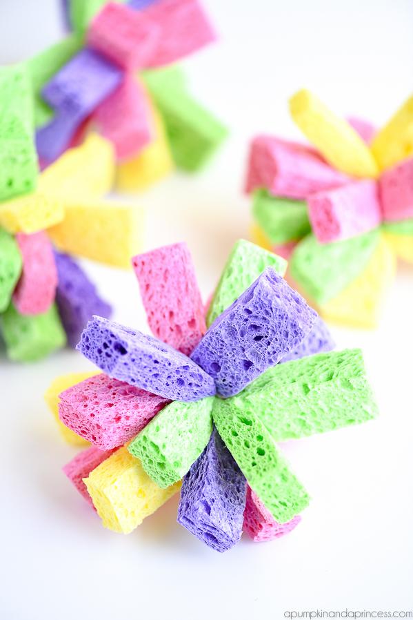 Sponge Bombs | 25+ MORE Summer Crafts for Kids